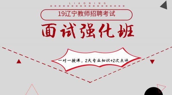 19辽宁招教面试强化班