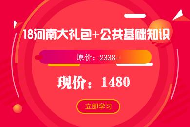 18河南大礼包+公共基础知识