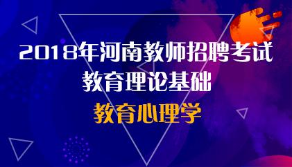 18河南 教育心理学