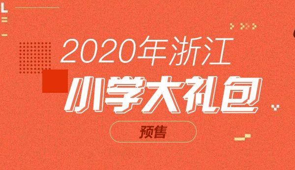 20年浙江小学大礼包